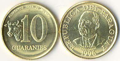 Paraguay 10 Guarani