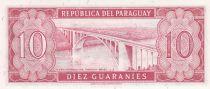 Paraguay 10 Guaranies - Eugenio A. Garay - 1963 - P.196 b - Neuf