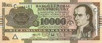 Paraguay 10000 Guaranies J.G Rodriguez de Francia - 14 Mai 1811