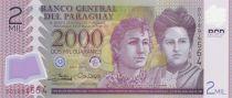 Paraguay 2000 Guaranies Adela y Celsa Speratti - 2017 Polymer