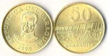 Paraguay 50 Guaranies KM.191.a