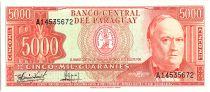 Paraguay 5000 Guaranies, Don C. A. Lopez - 1982 - P.208 - Neuf