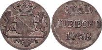 Pays-Bas 1 Duit Armoiries - 1768