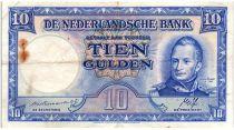 Pays-Bas 10 Gulden 1945 - Wilhem I, usine