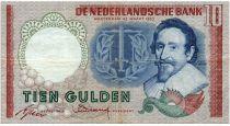 Pays-Bas 10 Gulden 1953 - Hugo de Groot