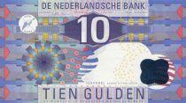 Pays-Bas 10 Gulden Design géométrique - 1997  Neuf