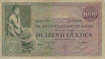 Pays-Bas 1000 Gulden Femme assise