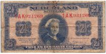 Pays-Bas 2½ Gulden 1945 - Wilhelmina