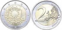Pays-Bas 2 Euros 30 ans du Drapeau Européen - 2015