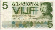 Pays-Bas 5 Gulden 1966 - C. Vondel