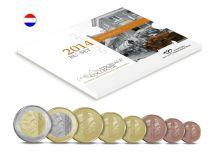 Pays-Bas BU.2014 Coffret BU Pays-Bas 2014 - 8 pièces