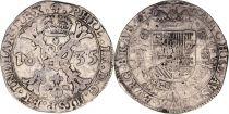 Pays-Bas Espagnol 1 Patagon Armoiries - Bruxelles 1635