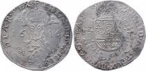 Pays-Bas Espagnol Patagon Armoiries - Bruges 1646
