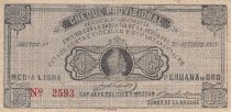 Pérou ½ Libra peruana de oro 1921 - Cheque provisional