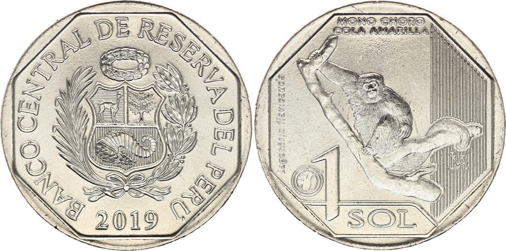 Pérou 1 Sol - Singe - 2019