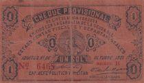 Pérou 1 Sol 1921 - Cheque provisional