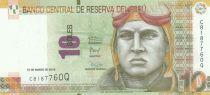 Pérou 10 Soles, J. Abelardo Quinones Gonzales - 2016 (2017)