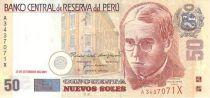 Pérou 50 Nuevos Soles Soles, A. Valdelomar Pinto - Lagune Huacachina
