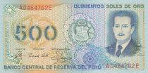 Pérou 500 Soles de Oro - José Quinones - 1982