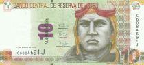 Peru 10 Nuevos Soles, J. Abelardo Quinones Gonzales - 2013