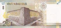 Peru 20 Nuevos Soles Soles, R. Porras Barrenecha - Chan Chan Trujillo