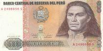 Peru 500 Intis J. G. Condorcanqui Tupac Amaru II - 1985
