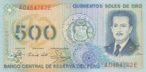 Peru 500 Soles de Oro - José Quinones - 1982