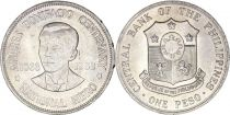 Philippines 1 Peso 100th anniversary of Andres Bonifacio - 1963