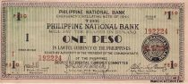 Philippines 1 Peso Black and green