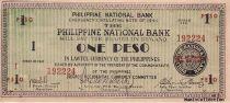 Philippines 1 Peso Noir et vert