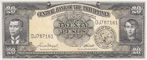 Philippines 10 Pesos - A. Bonifacio, E. Jacinto - Sig. 5 - 1949