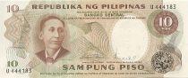 Philippines 10 Piso A. Mabini - Eglise