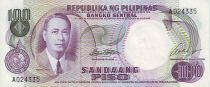Philippines 100 Peso Manuel Roxas - Central Bank