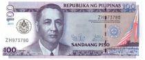 Philippines 100 Piso Prés. M. Rowas - 100 ans Grande Loge de la Liberté