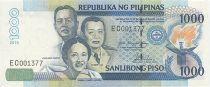 Philippines 1000 Piso J. Abad Santos, V. Lim, J. Lllanes Escoda - 2010