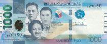 Philippines 1000 Piso V. Lim, Josefa LLanes Escoda, J. Abad Santos -  2020 - UNC - P.211