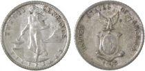 Philippines 20 Centavos Femme et forge
