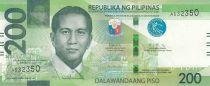 Philippines 200 Piso D. Macapagal - Tarsier - 2020 - UNC - P.209