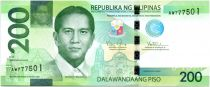 Philippines 200 Piso D. Macapagal - Tarsier, paysage 2015