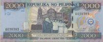 Philippines 2000 Piso 100 ans indépendance