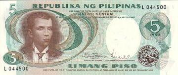 Philippines 5 Piso 5 Piso