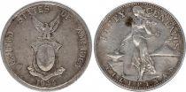 Philippines 50 Centavos Femme et forge - 1944