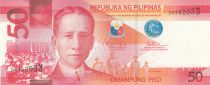Philippines 50 Piso Prés. S. Osmeña - Poissons, lac Taal 2014