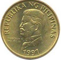 Philippines 50 Sentimo Portrait de H. Pilar - Aigle