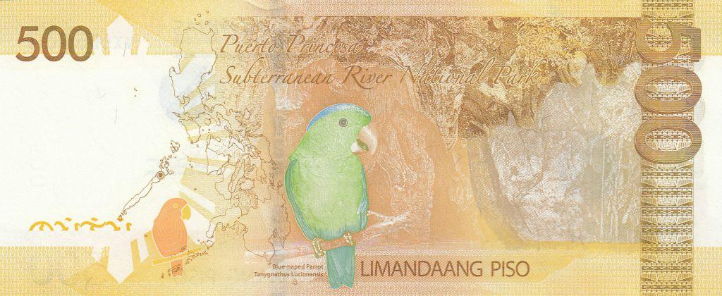 Philippines 500 Piso 2013 -  Benigno Aquino - Manila