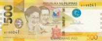 Philippines 500 Piso Corazon and Begnino Aquino -  2020 - UNC - P.210