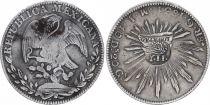 Philippines 8 Réales Contremarque - Isabel II - 1834