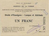 Pir.13 Marseille Service de la voirie