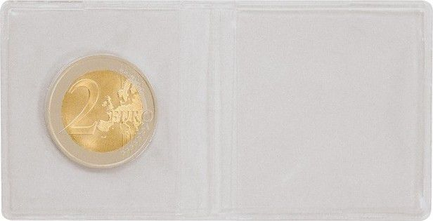 Plastic pocket for coins 95x48 (per 100)