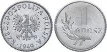 Poland 1 Grosz - Arms - 1949